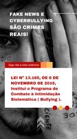 Fake news e Cyberbullying são CRIMES REAIS!